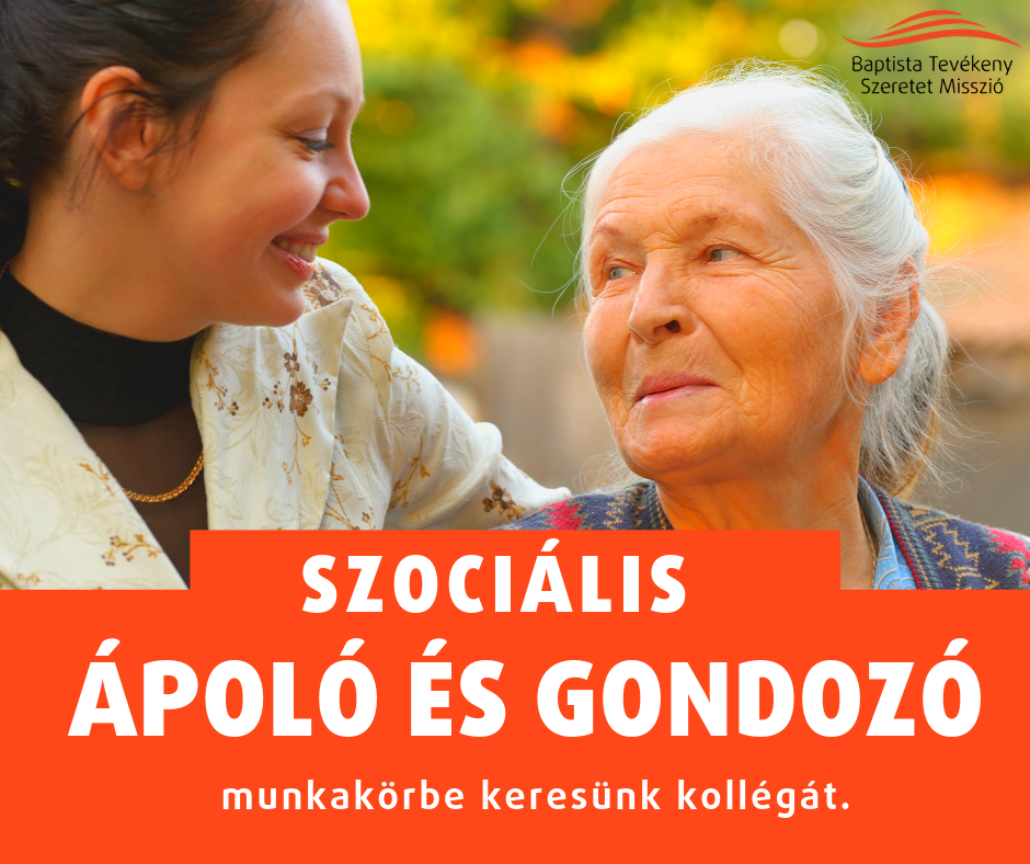 Szociális ápoló/gondozó – Debrecen