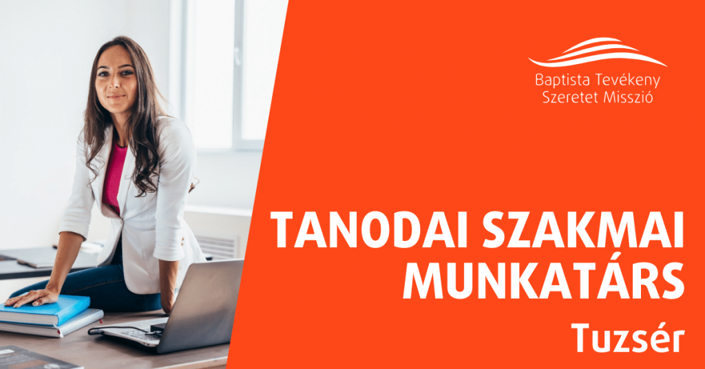TANODAI SZAKMAI MUNKATÁRS – TUZSÉR